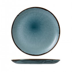 Round Plate Coupe 288mm Harvest Blue Dudson (12)