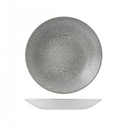 Deep Coupe Plate 255mm Evo Origins Natural Grey Dudson (12)