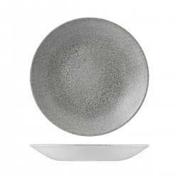 Deep Coupe Plate 281mm Evo Origins Natural Grey Dudson (12)