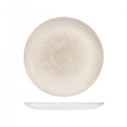 Round Coupe Plate  260mmRaku Agate Grey Churchill Studio Prints (12)