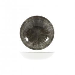 Round Coupe Bowl 182mm / 426ml Stone Quartz Black Churchill Studio Prints (12)