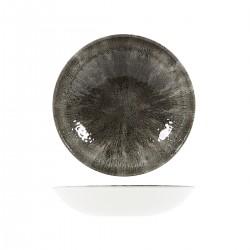 Round Coupe Bowl 248mm / 1136ml Stone Quartz Black Churchill Studio Prints (12)