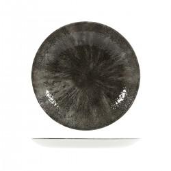 Round Coupe Plate 260mm Stone Quartz Black Churchill Studio Prints (12)