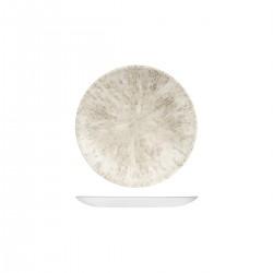 Round Coupe Plate 165mm Stone Agate Grey Churchill Studio Prints (12)
