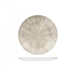 Round Coupe Plate 217mm Stone Agate Grey Churchill Studio Prints (12)