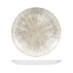 Round Coupe Plate 288mm Stone Agate Grey Churchill Studio Prints (12)