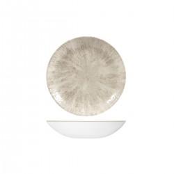 Round Coupe Bowl 182mm / 426ml Stone Agate Grey Churchill Studio Prints (12)