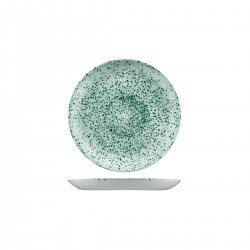 Round Coupe Plate 165mm Mineral Green Churchill Studio Prints (12)