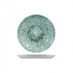 Round Coupe Plate 217mm Mineral Green Churchill Studio Prints (12)