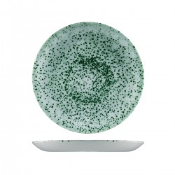 Round Coupe Plate 260mm Mineral Green Churchill Studio Prints (12)