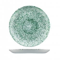 Round Coupe Plate 288mm Mineral Green Churchill Studio Prints (12)