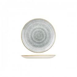 Round Coupe Plate 165mm Stone Grey Churchill Studio Prints (12)