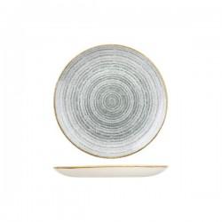 Round Coupe Plate 217mm Stone Grey Churchill Studio Prints (12)