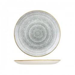 Round Coupe Plate 260mm Stone Grey Churchill Studio Prints (12)