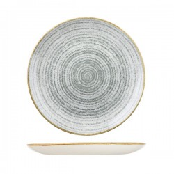 Round Coupe Plate 288mm Stone Grey Churchill Studio Prints (12)