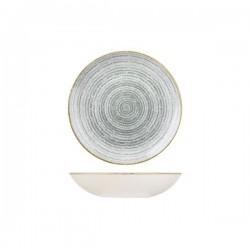Round Coupe Bowl 182mm / 426ml Stone Grey Churchill Studio Prints (12)
