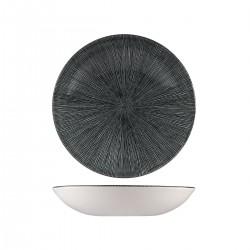 Round Coupe Bowl 248mm / 1136ml Agano Black Churchill Studio Prints (12)