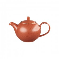 Beverage Pot 426ml Spiced Orange Churchill Stonecast (4)