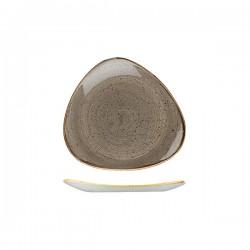 Triangular Plate 192 x 192mm Peppercorn Grey Churchill Stonecast (12)