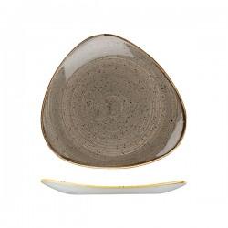 Triangular Plate 260 x 260mm Peppercorn Grey Churchill Stonecast (12)