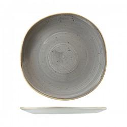 Trace Plate 264mm Peppercorn Grey Churchill Stonecast (12)