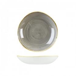 Trace Bowl 253mm / 1100ml Peppercorn Grey Churchill Stonecast (12)