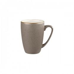 Mug 340ml Peppercorn Grey Churchill Stonecast (12)