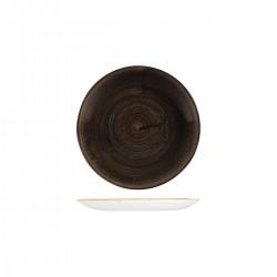 Round Coupe Plate 165mm Patina Iron Black Churchill Stonecast (12)