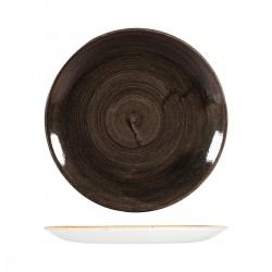 Round Coupe Plate 288mm Patina Iron Black Churchill Stonecast (12)