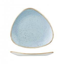 Triangular Plate 311 x 311mm Deep Duck Egg Churchill Stonecast (6)