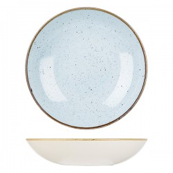 Round Coupe Bowl 2400ml / 310mm Duck Egg Churchill Stonecast (6)