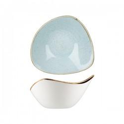 Triangular Bowl 153 x 153mm / 260ml Duck Egg Churchill Stonecast (12)