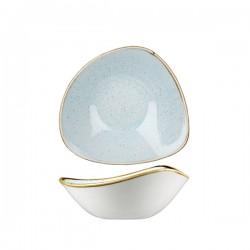 Triangular Bowl 185 x 185mm / 370ml Duck Egg Churchill Stonecast (12)