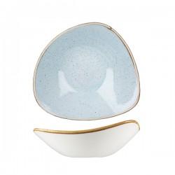 Triangular Bowl 235 x 235mm / 600ml Duck Egg Churchill Stonecast (6)