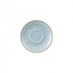 Cappuccino Saucer 156mm Duck Egg Churchill Stonecast (12)