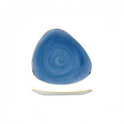 Triangular Plate 192 x 192mm Cornflower Blue Churchill Stonecast (12)