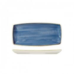 Oblong Plate 295 x 150mm Cornflower Blue Churchill Stonecast (12)