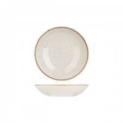 Round Coupe Bowl 182mm / 426ml Barely White Churchill Stonecast (12)