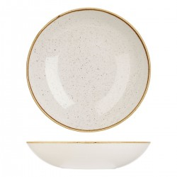 Round Coupe Bowl 310mm / 2400ml Barely White Churchill Stonecast (6)