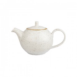 Beverage Pot 426ml Barely White Churchill Stonecast (4)