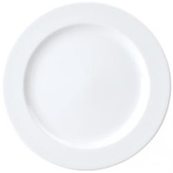 Chelsea 280mm Round Plate Flat Rim (0941) (12)