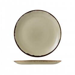 Round Coupe Plate 260mm Harvest Linen Dudson (12)