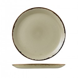 Round Coupe Plate 288mm Harvest Linen Dudson (12)