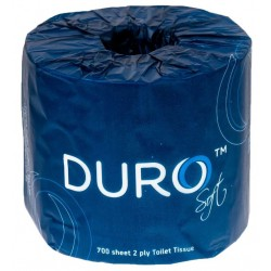 Caprice Duro 2ply 700 Sheet Toilet Roll Individually Wrapped (48)
