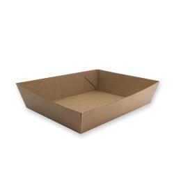 Tray Paper No 3 180x134x45mm Kraft (300)