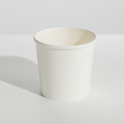 White 26oz Food Container & Lid Combo (250)