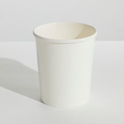 White 32oz Food Container & Lid Combo (250)