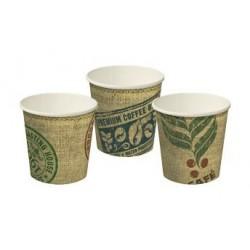 Cast Away Single Wall Paper Hot Cup 4oz / 118ml Jute (1000)