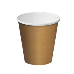 Cast Away Single Wall Paper Hot Cup 8oz / 280ml Kraft Brown (1000)