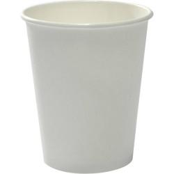 Capri Heavy Board Paper Coffee Cup 8oz / 237ml White (500)